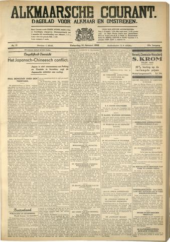 Alkmaarsche Courant 1933-01-14