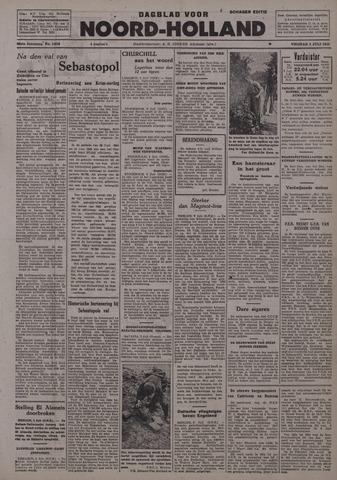 Dagblad Noord-Holland, Schager editie 1942-07-03