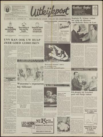 Uitkijkpost : nieuwsblad voor Heiloo e.o. 1988-11-02