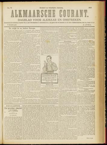 Alkmaarsche Courant 1918-04-05