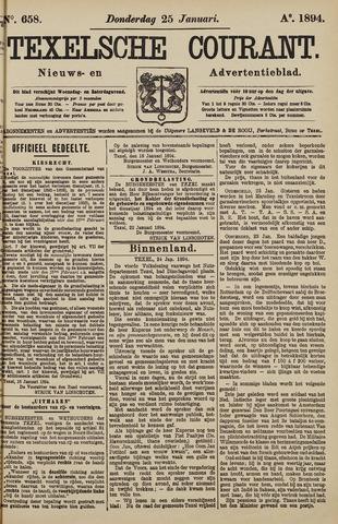 Texelsche Courant 1894-01-25