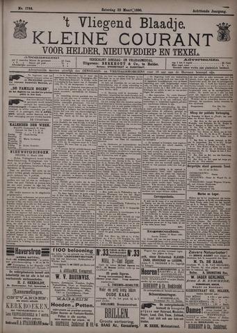 Vliegend blaadje : nieuws- en advertentiebode voor Den Helder 1890-03-22