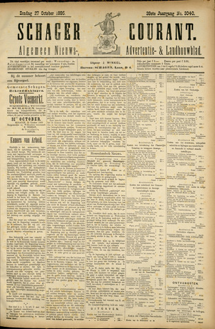 Schager Courant 1895-10-27