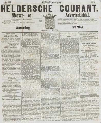 Heldersche Courant 1875-05-29