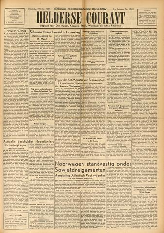 Heldersche Courant 1949-02-10