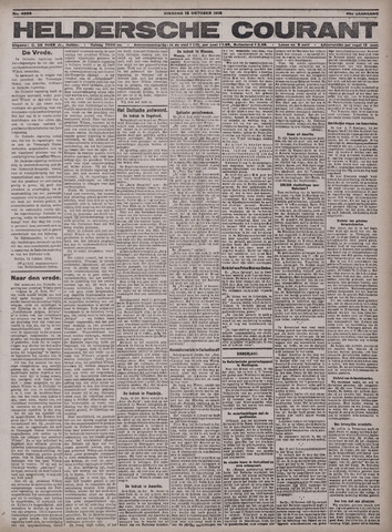 Heldersche Courant 1918-10-15