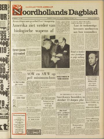 Noordhollands Dagblad : dagblad voor Alkmaar en omgeving 1969-11-26