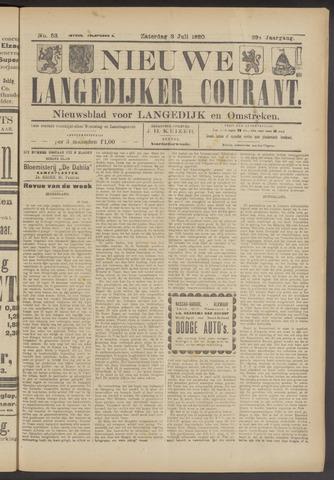 Nieuwe Langedijker Courant 1920-07-03
