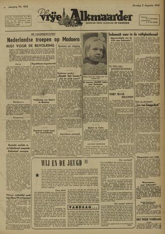 De Vrije Alkmaarder 1947-08-05