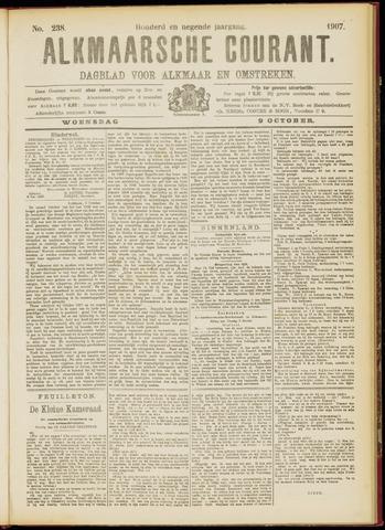 Alkmaarsche Courant 1907-10-09