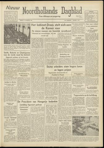 Nieuw Noordhollandsch Dagblad : voor Alkmaar en omgeving 1948-08-13