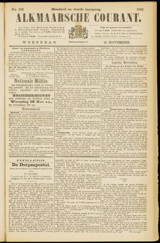 Alkmaarsche Courant 1902-11-19