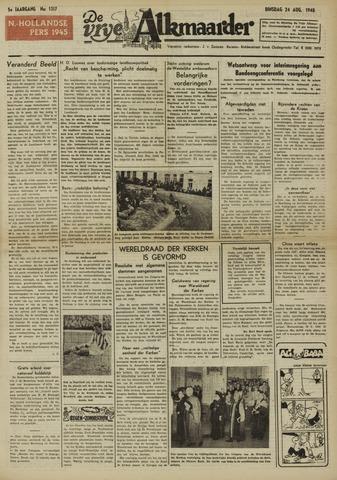 De Vrije Alkmaarder 1948-08-24