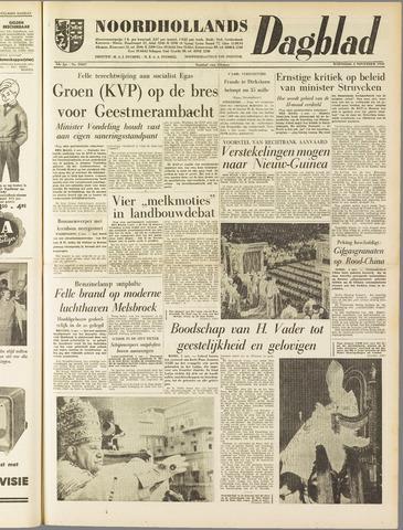 Noordhollands Dagblad : dagblad voor Alkmaar en omgeving 1958-11-05