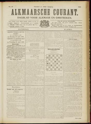 Alkmaarsche Courant 1909-04-10