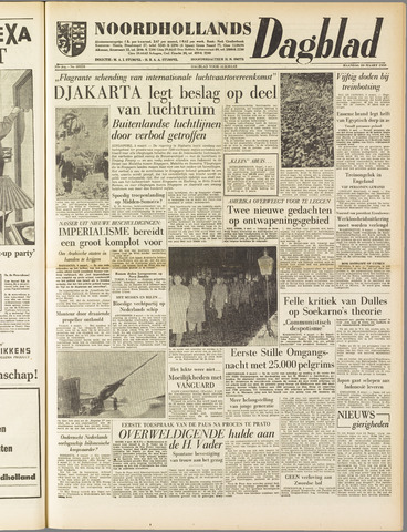 Noordhollands Dagblad : dagblad voor Alkmaar en omgeving 1958-03-10