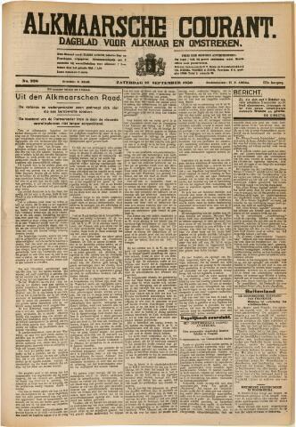 Alkmaarsche Courant 1930-09-27