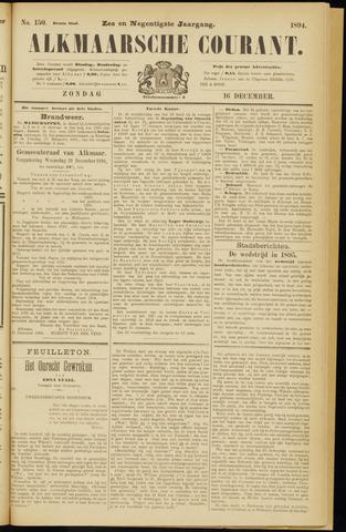 Alkmaarsche Courant 1894-12-16