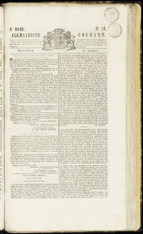 Alkmaarsche Courant 1841-10-11