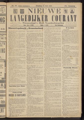 Nieuwe Langedijker Courant 1928-07-24