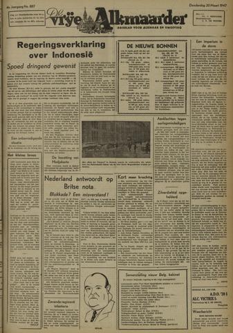 De Vrije Alkmaarder 1947-03-20