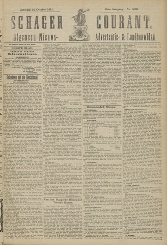 Schager Courant 1911-10-21