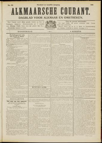 Alkmaarsche Courant 1910-08-04