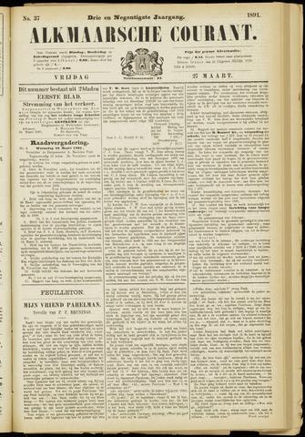 Alkmaarsche Courant 1891-03-27