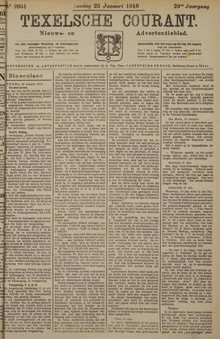 Texelsche Courant 1916-01-23