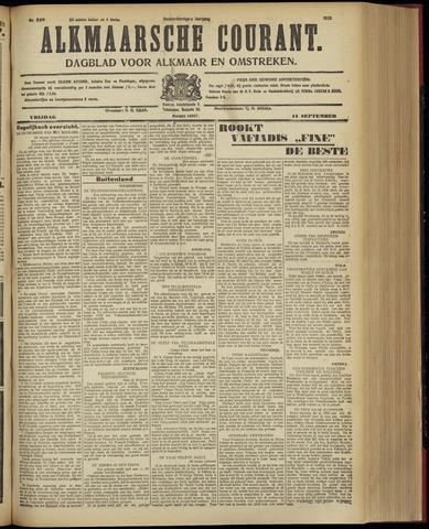 Alkmaarsche Courant 1928-09-14