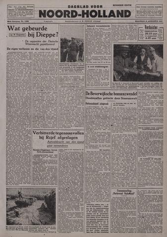 Dagblad Noord-Holland, Schager editie 1942-08-31