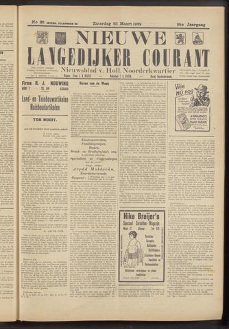 Nieuwe Langedijker Courant 1929-03-23