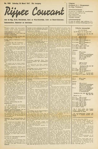 Rijper Courant 1947-03-29