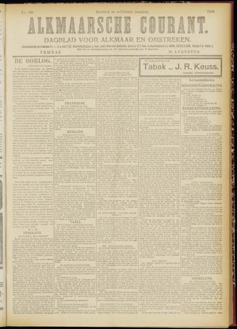 Alkmaarsche Courant 1916-08-18