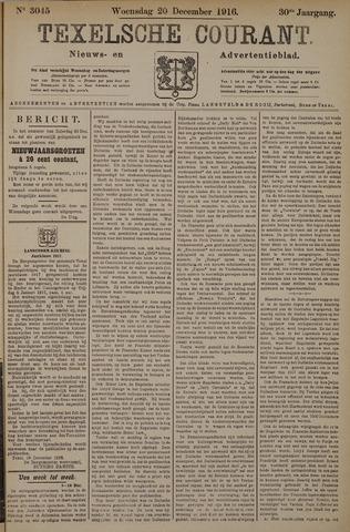 Texelsche Courant 1916-12-20