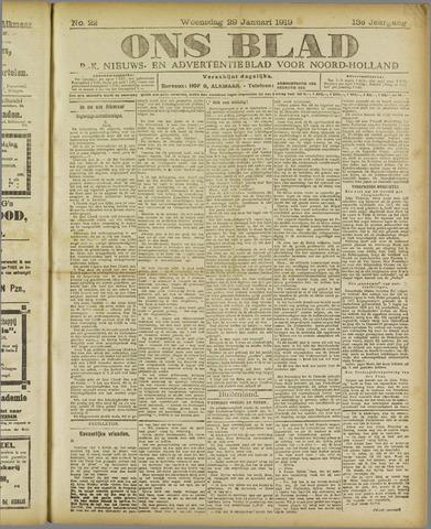 Ons Blad : katholiek nieuwsblad voor N-H 1919-01-29