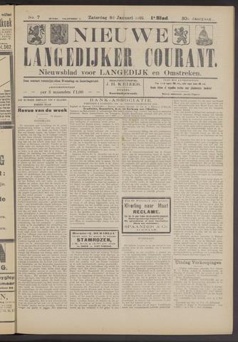 Nieuwe Langedijker Courant 1921-01-22