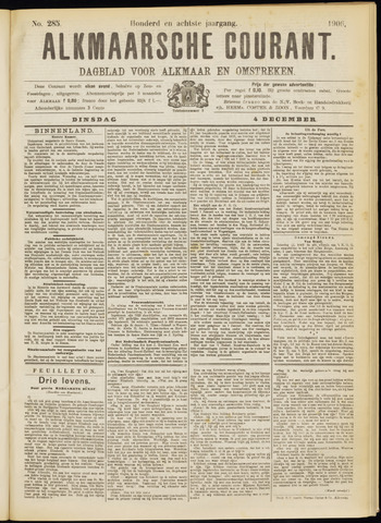 Alkmaarsche Courant 1906-12-04