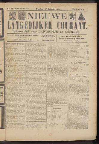 Nieuwe Langedijker Courant 1924-02-26