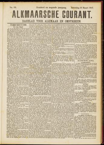 Alkmaarsche Courant 1907-03-16