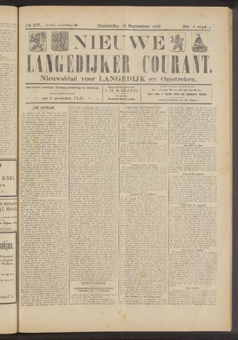 Nieuwe Langedijker Courant 1923-09-13