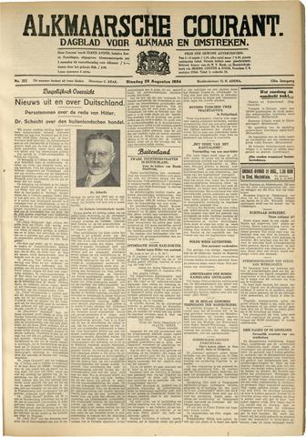 Alkmaarsche Courant 1934-08-28
