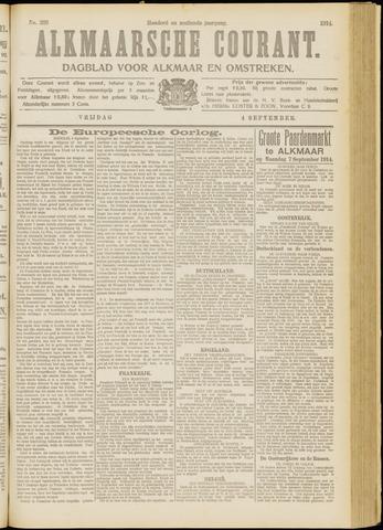 Alkmaarsche Courant 1914-09-04