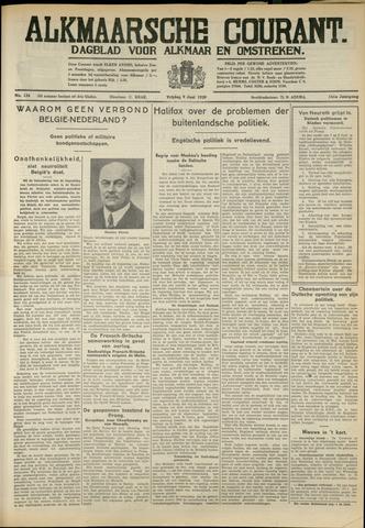 Alkmaarsche Courant 1939-06-09