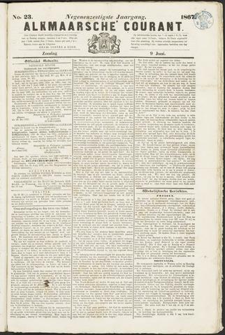 Alkmaarsche Courant 1867-06-09