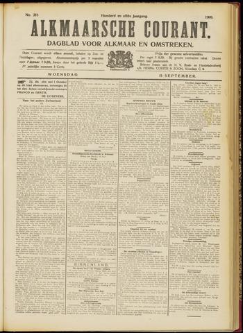 Alkmaarsche Courant 1909-09-15