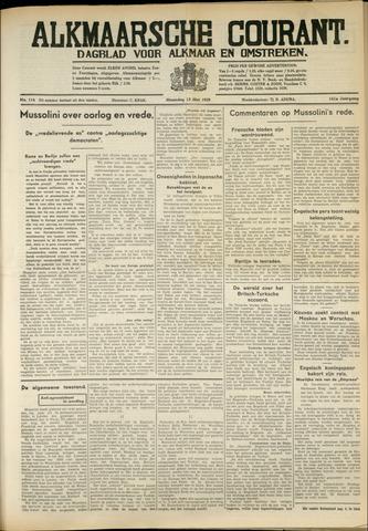 Alkmaarsche Courant 1939-05-14