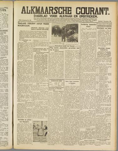 Alkmaarsche Courant 1941-12-09