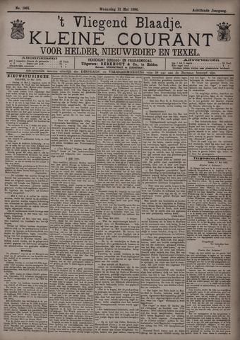 Vliegend blaadje : nieuws- en advertentiebode voor Den Helder 1890-05-21