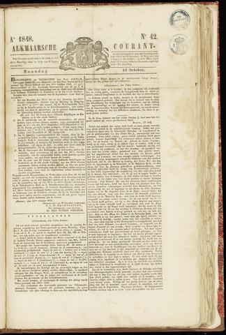 Alkmaarsche Courant 1848-10-16